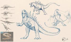 Dinosaurian Godzilla