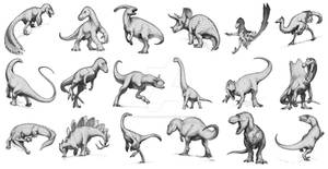 Dinosaur Sketches