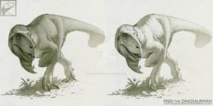 Stalking Utahraptor