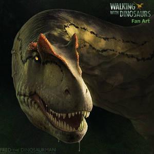 Commission: Walking with Dinosaurs Allosaurus