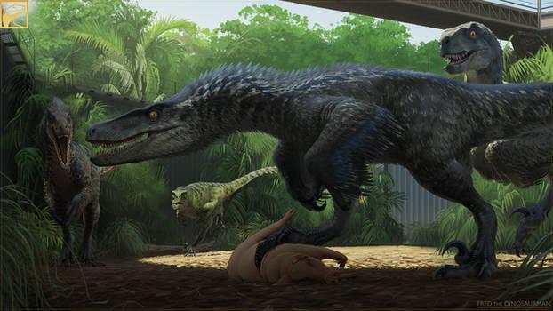 The Raptor Squad: Jurassic World Updated