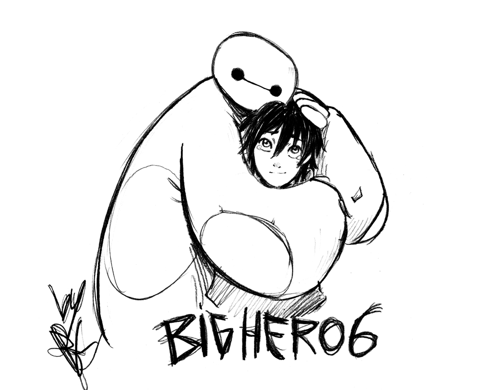BIG HERO 6 by narutaru1