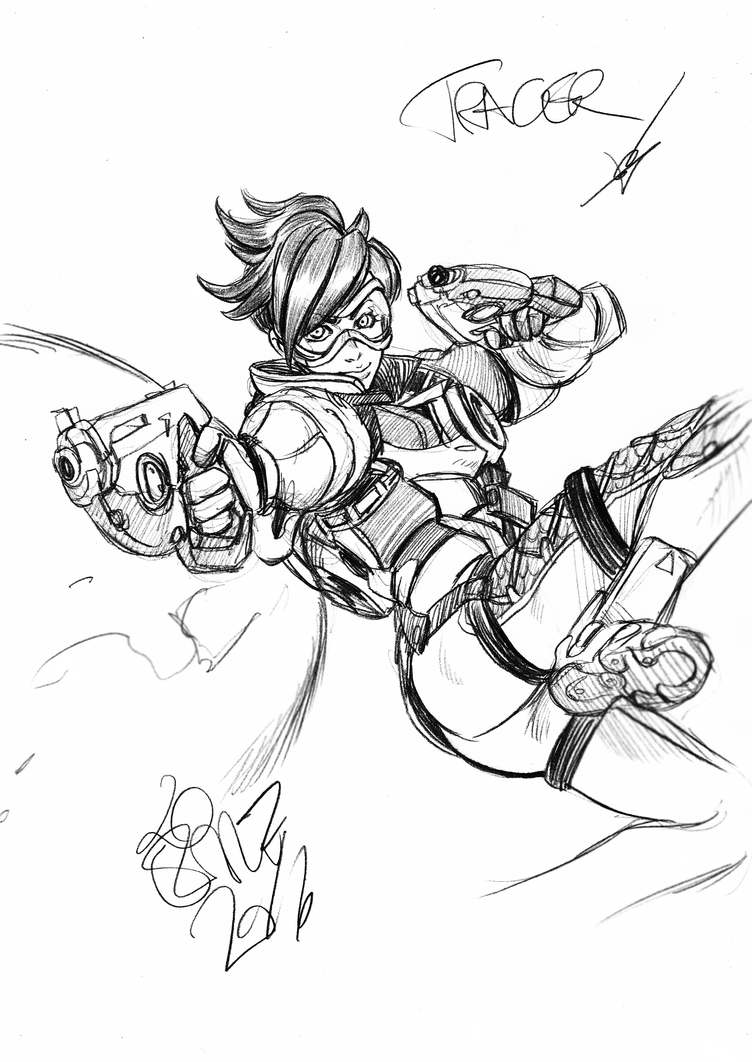 TRACER! by narutaru1