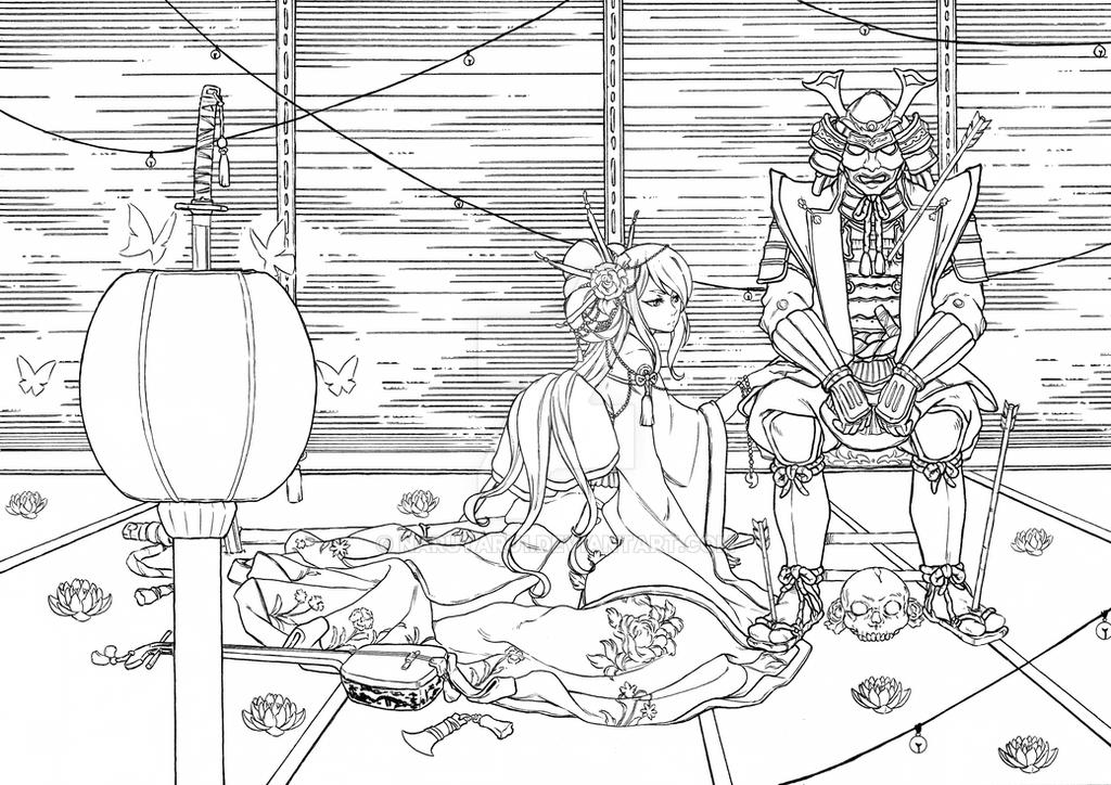 hien illustration 2 by narutaru1