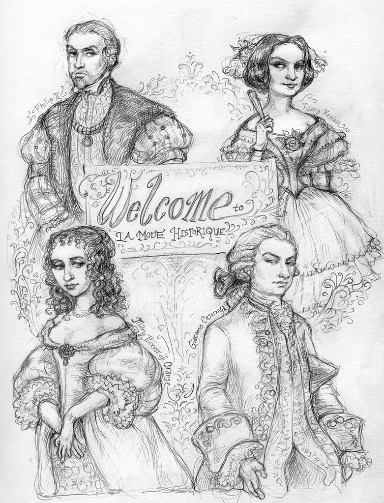 Welcome to La Mode Historique by suburbanbeatnik