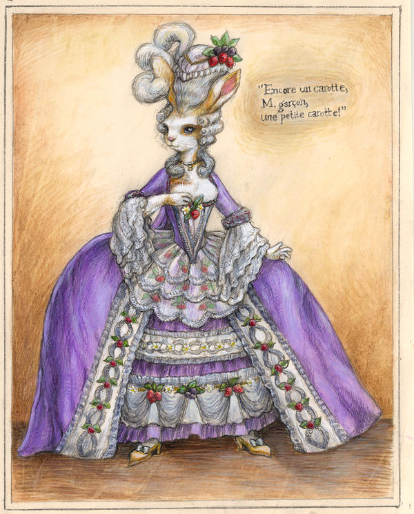 Madame du Bunny by suburbanbeatnik