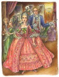 Bea and Alan at the ball by suburbanbeatnik