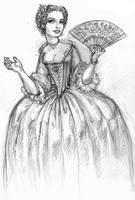 The Dressmaker's Apprentice by suburbanbeatnik
