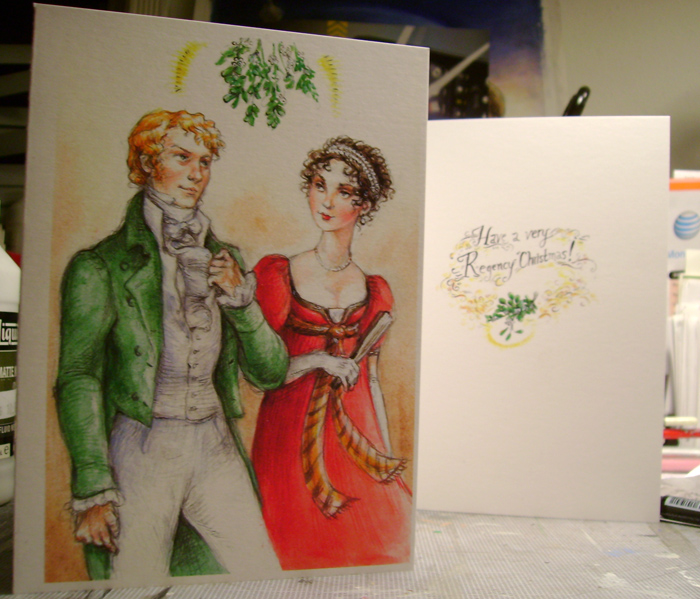 Have a very Regency Christmas by suburbanbeatnik