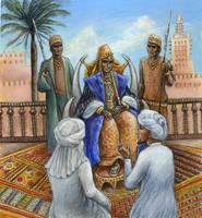 Mansa Musa, King of Mali by suburbanbeatnik