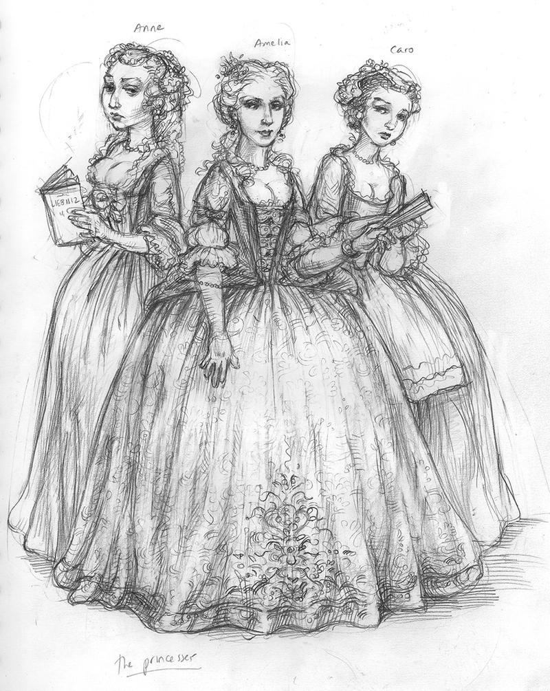 Princesses by suburbanbeatnik
