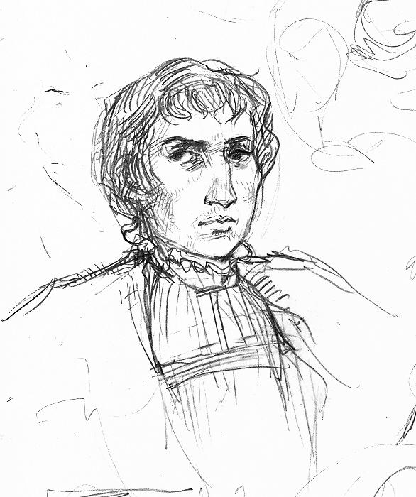 George Boleyn sketch by suburbanbeatnik