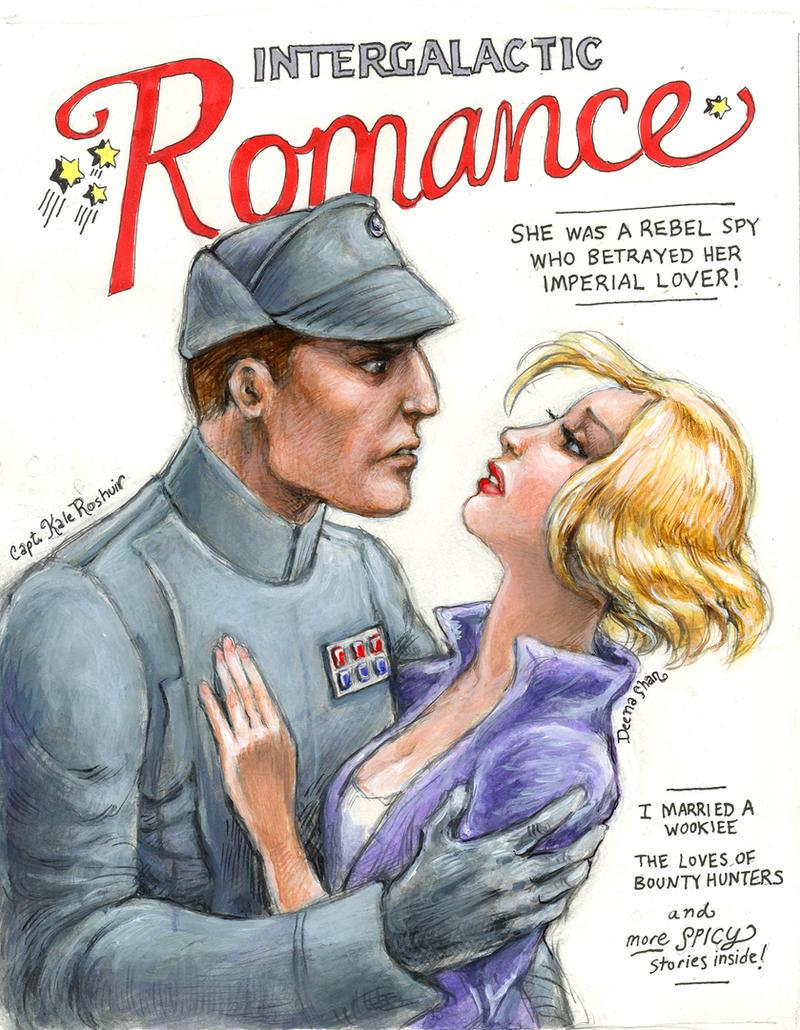 Intergalactic Romance by suburbanbeatnik