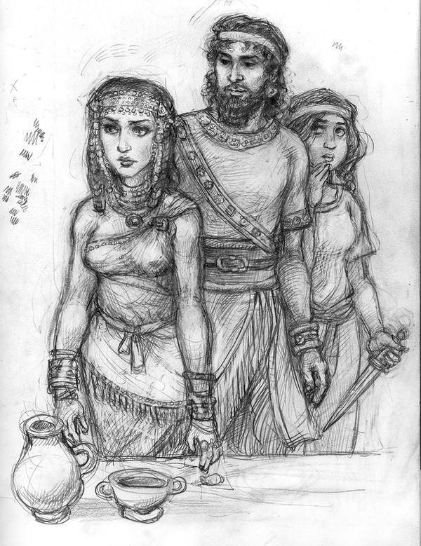 Judith and Holofernes by suburbanbeatnik