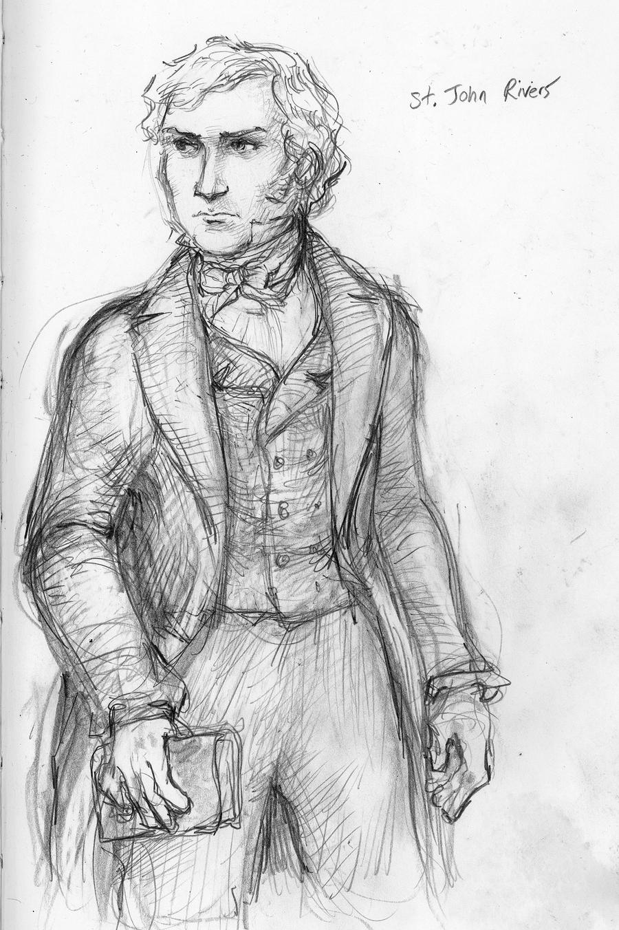 jane eyre st john Get an answer for 'compare the two men in jane eyre's life: st john rivers and rochester what is their appeal to jane and her reaction to themit is a comparitive essay and i need 3 main pointss' and find homework help for other jane eyre.