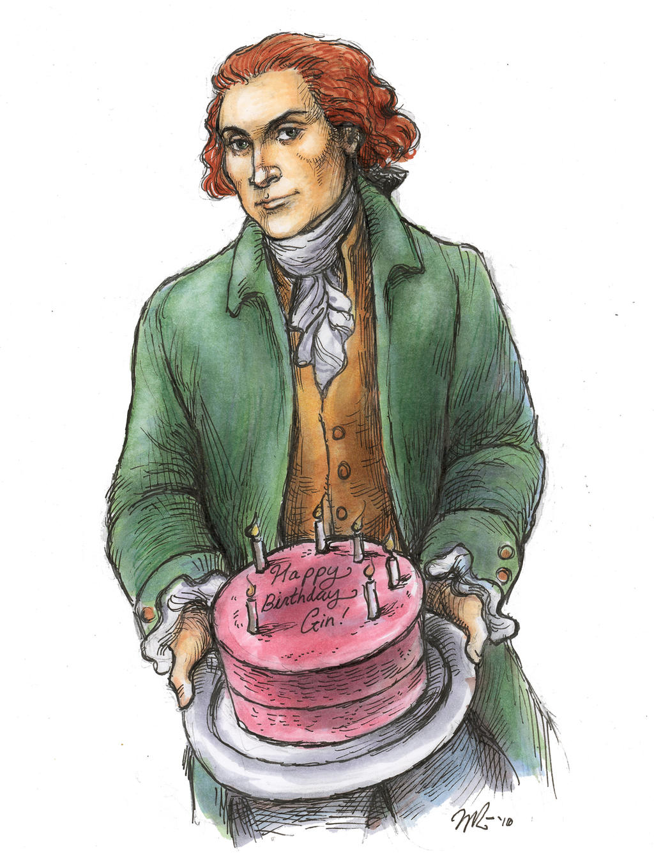 Thomas Jefferson's Cake by suburbanbeatnik