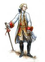 The Marquis de Sade by suburbanbeatnik