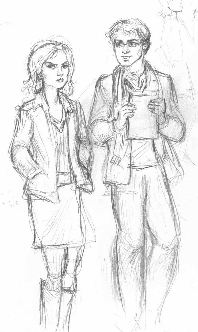 Rachel and Peter by suburbanbeatnik