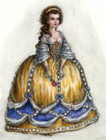 Rococo Belle by suburbanbeatnik