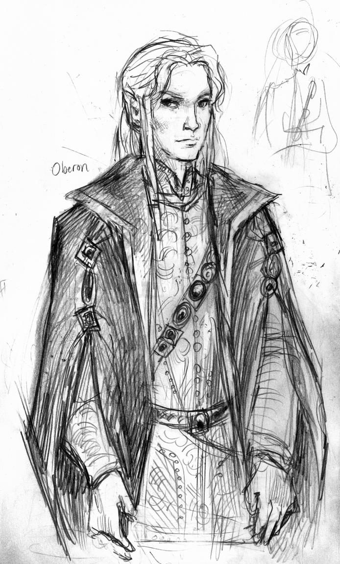 Oberon sketch by suburbanbeatnik