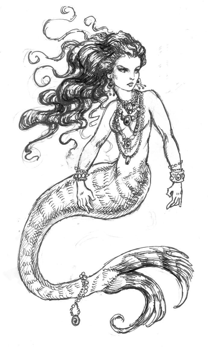 The Dark Mermaid by suburbanbeatnik