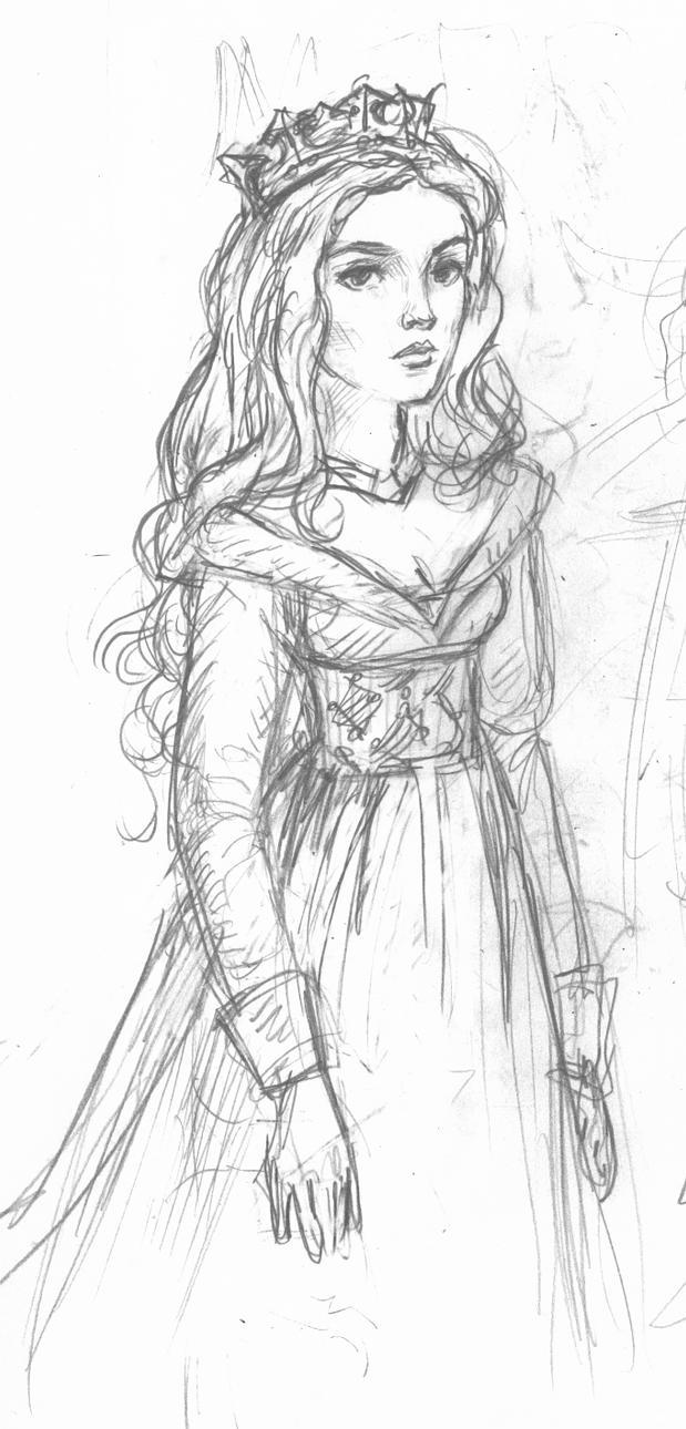 Aurora sketch by suburbanbeatnik