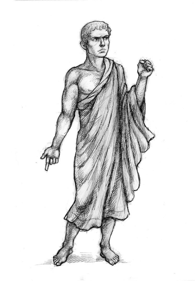 Cato the Younger by suburbanbeatnik