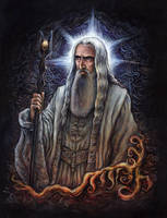 Saruman by suburbanbeatnik