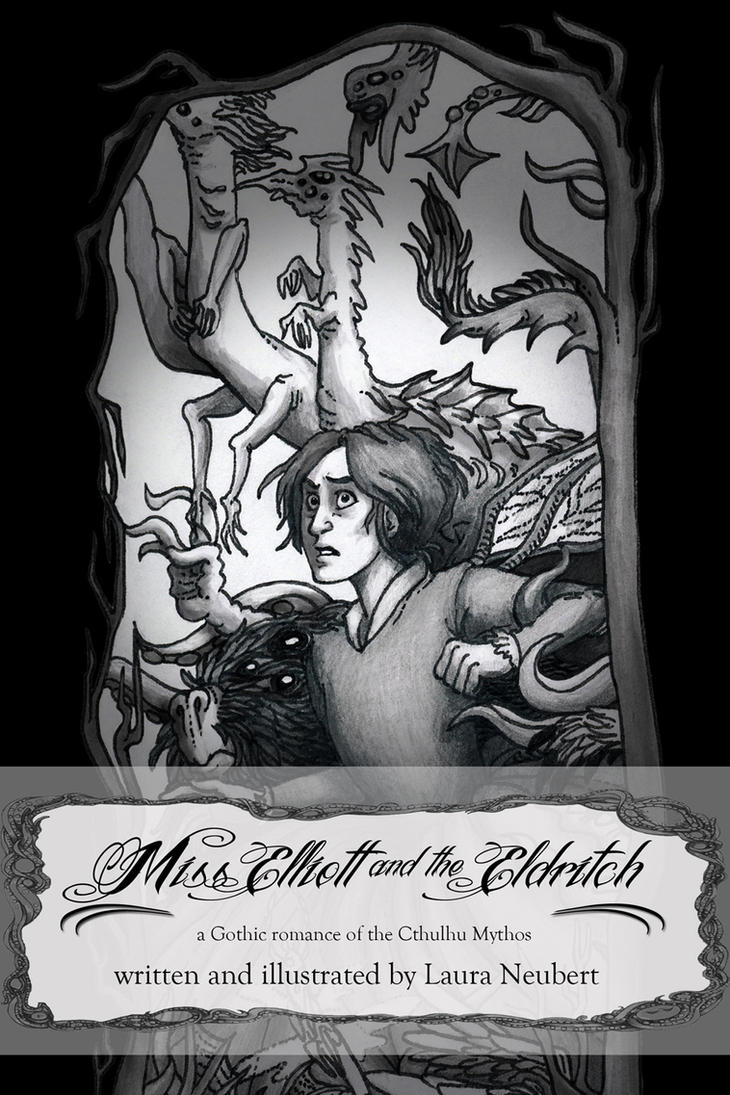 Miss Elliott book cover by suburbanbeatnik
