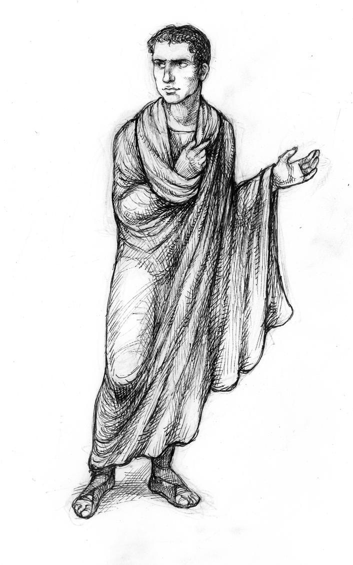 Young Cicero by suburbanbeatnik
