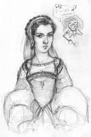 Anne Boleyn by suburbanbeatnik