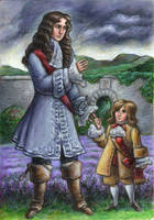 John Graham of Claverhouse, and his son Jamie by suburbanbeatnik