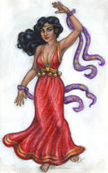 Late 15th century Esmeralda by suburbanbeatnik