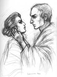 Cicero and Clodia III by suburbanbeatnik