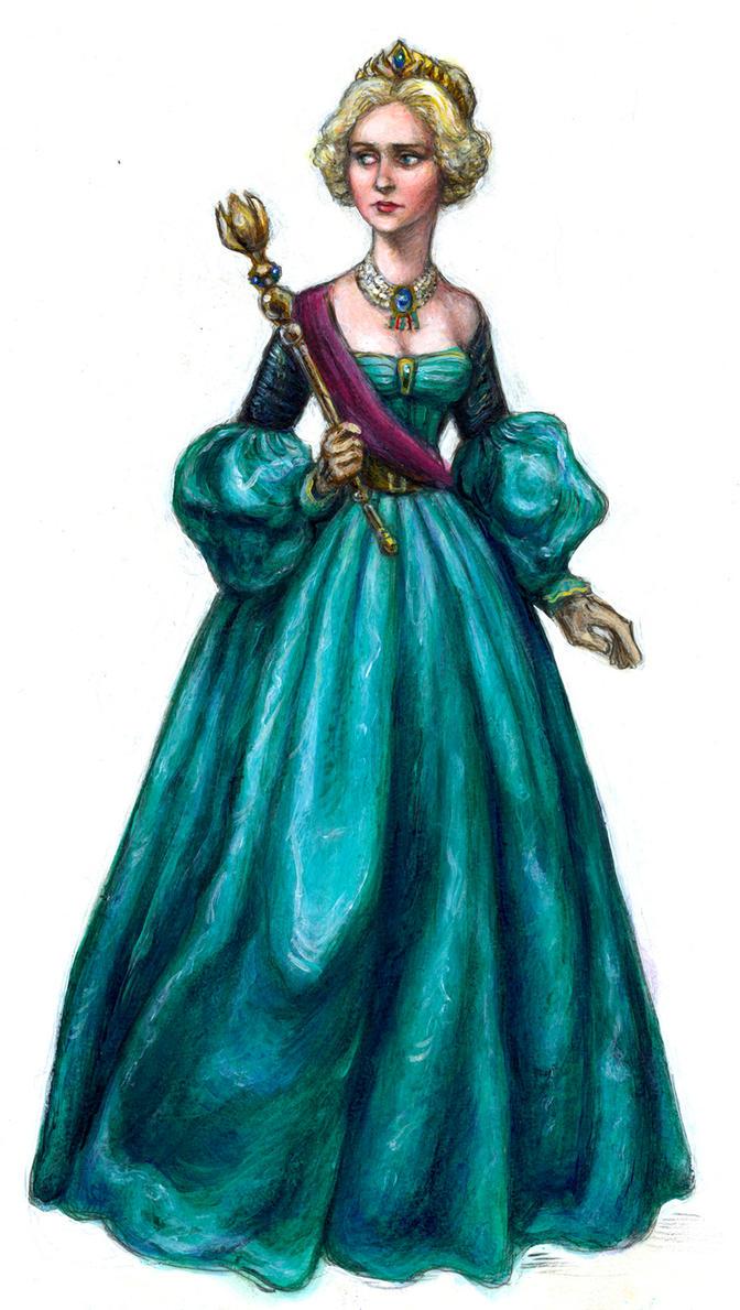 Early Victorian Elsa by suburbanbeatnik