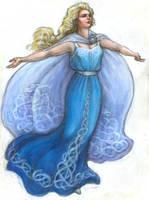 Early Victorian Elsa: 'Let It Go' Ice Costume by suburbanbeatnik