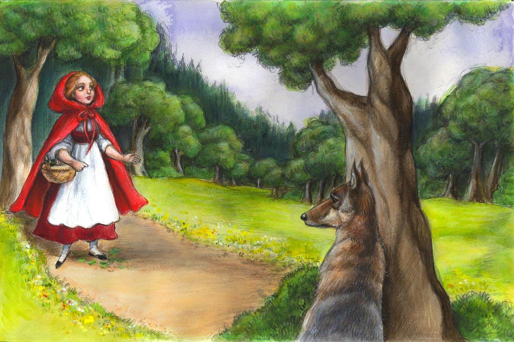 The Big Bad Wolf Speaks by suburbanbeatnik