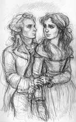 Eleonore and Maxime by suburbanbeatnik