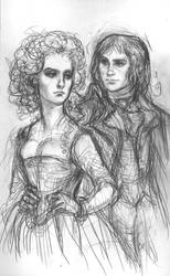 Augustin and Velia by suburbanbeatnik