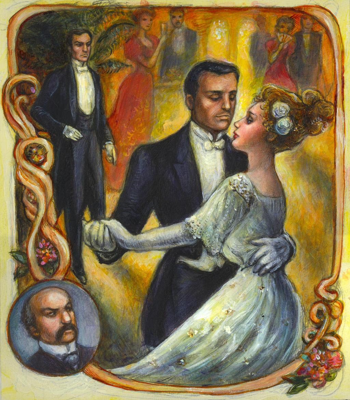 Alice and Luigi Waltz by suburbanbeatnik