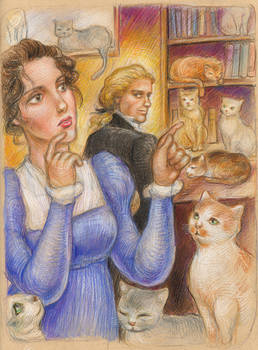 The Bluestocking: Ten Cats