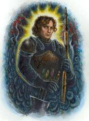 Theon Greyjoy by suburbanbeatnik