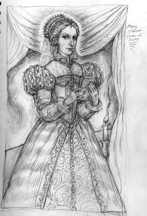 Mary Stuart by suburbanbeatnik