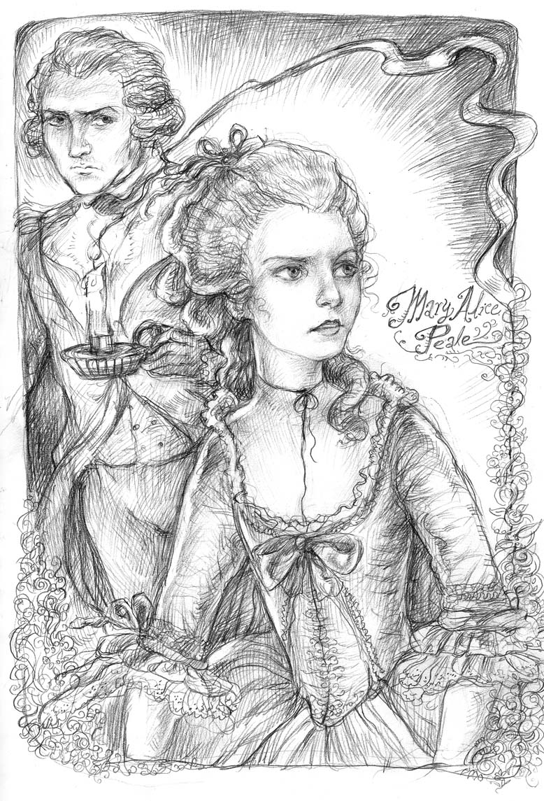 Mary Alice Peale- sketch by suburbanbeatnik