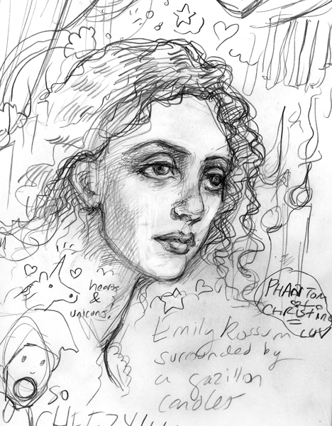 Emmy Rossum by suburbanbeatnik