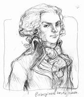 Robespierre doesn't cuddle by suburbanbeatnik
