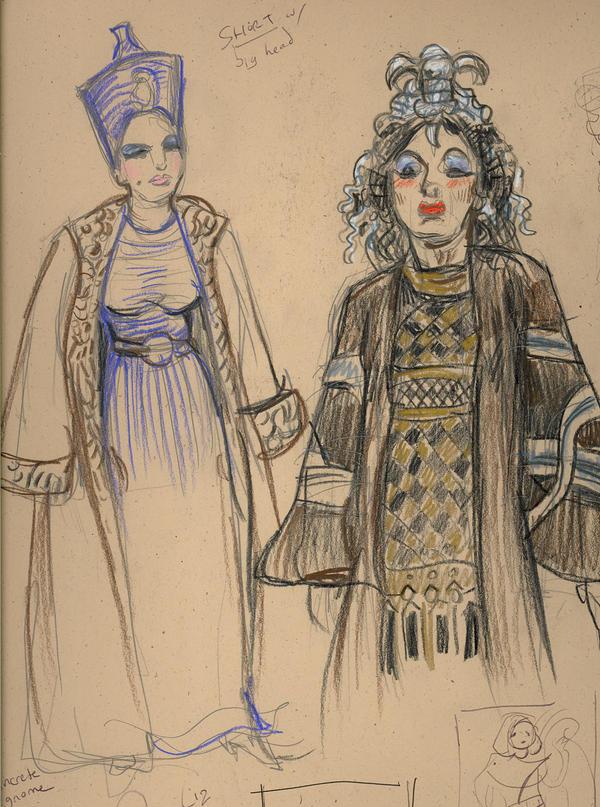 Cleopatra Sketch Dump by suburbanbeatnik