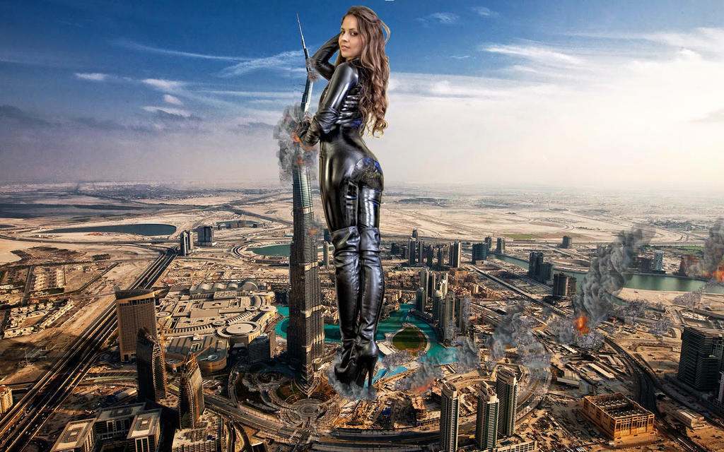 Cali visits Dubai by uvwxyz
