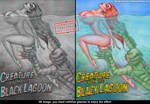 creature 3D anaglyph by Torrealba by jesustorrealba