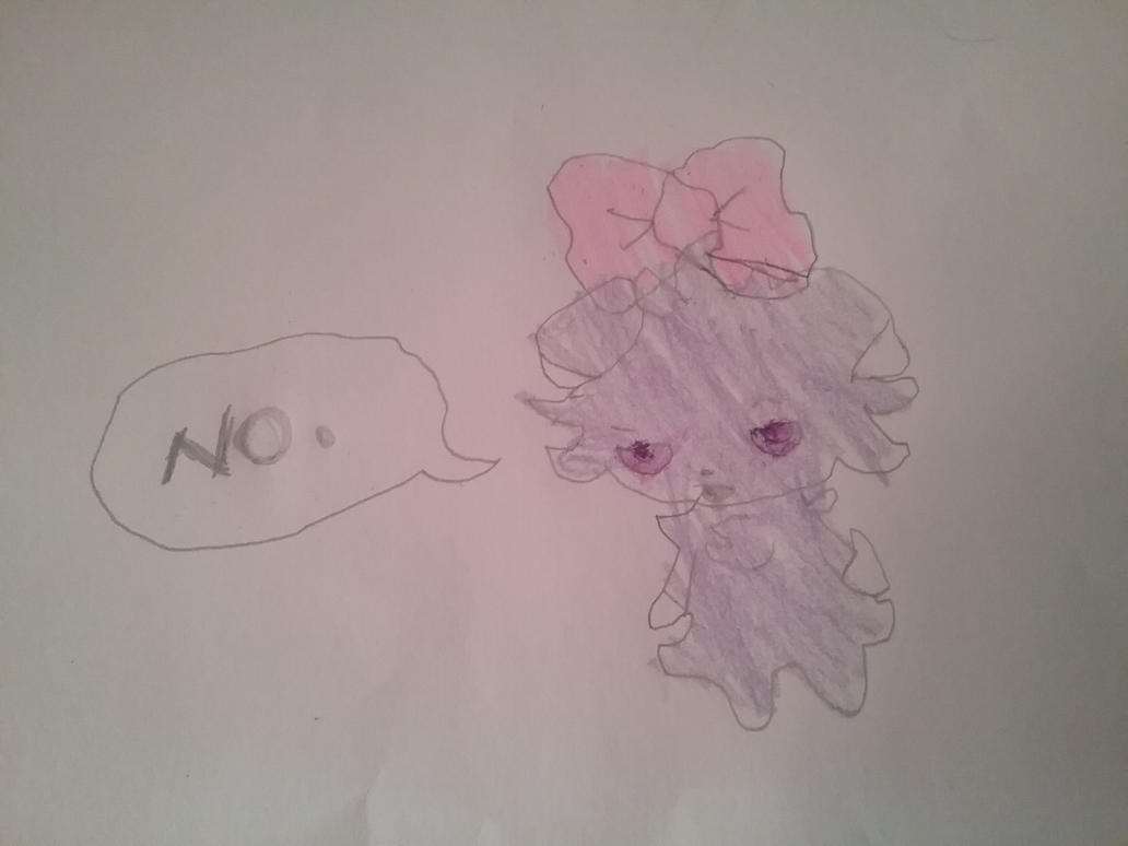 Espurr is  not amused. by i-love-blueberries